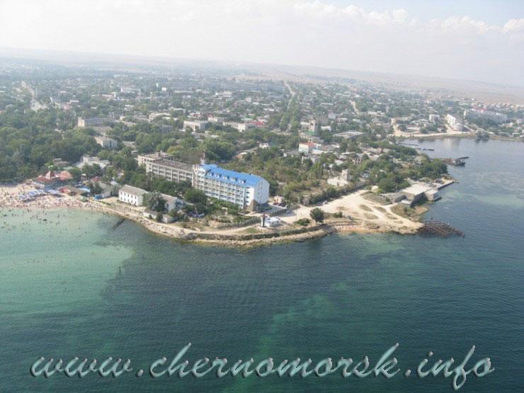 Крым Черноморское - Пляж, окрестности, люди