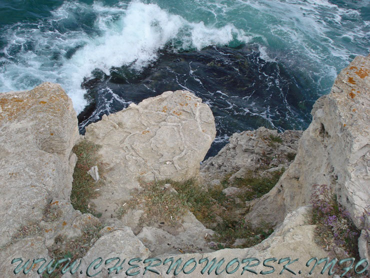 ФОТО отчёт - пгт Черноморское Халабуда Крым Западный берег мыс Тарханкут